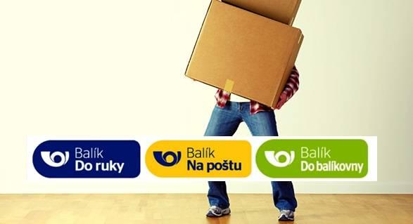 Balíčky nám letos doručuje Česká pošta