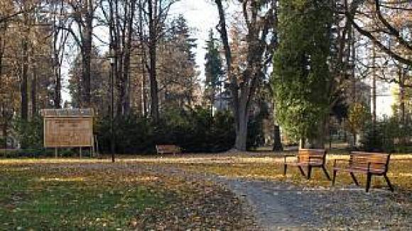 Úklid bruntálského parku